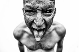 evil-mockery-photograph-of-demon-in-human-form-dart-art-by-danielle-tunstall